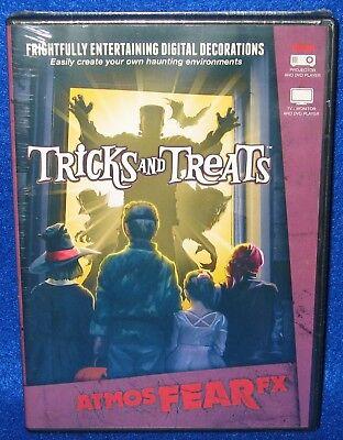 AtmosFX FearFX Tricks and Treats Halloween Digital Decorations