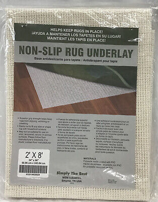 RUG PAD 8x2 Non Skid Slip Underlay Nonslip