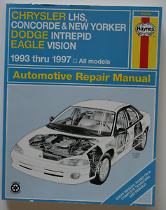 CHRYSLER LHS Concorde DODGE EAGLE 1993-1997 Repair manual Haynes