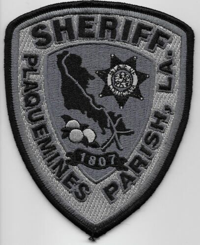 Plaquemines Sheriff Subdued SWAT SRT State Louisiana LA