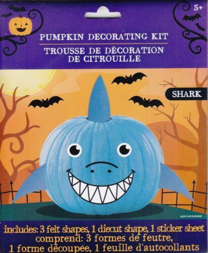 New Halloween Pumpkin Decorating Kit Felt ~ Shark