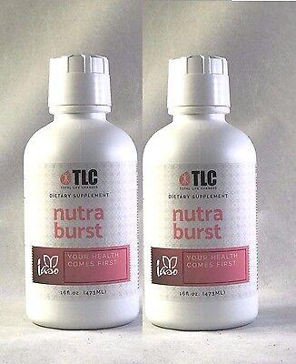 Iaso Nutra Burst 16 Oz   2 Pack  Two Months Supply 100  Organic   Tlc