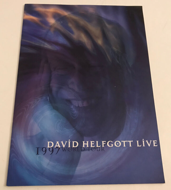 David Helfgott 1997 World Tour Live Pamphlet
