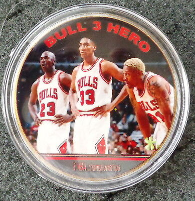 MICHAEL JORDAN  1 oz  24 KT .gold plated   basketball  COLLECTIBLE  COIN  # -
