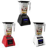 Blendtec Classic 560 1560W 3 Hp 4 Speed Kitchen Mixer Blender- Black, Red, White
