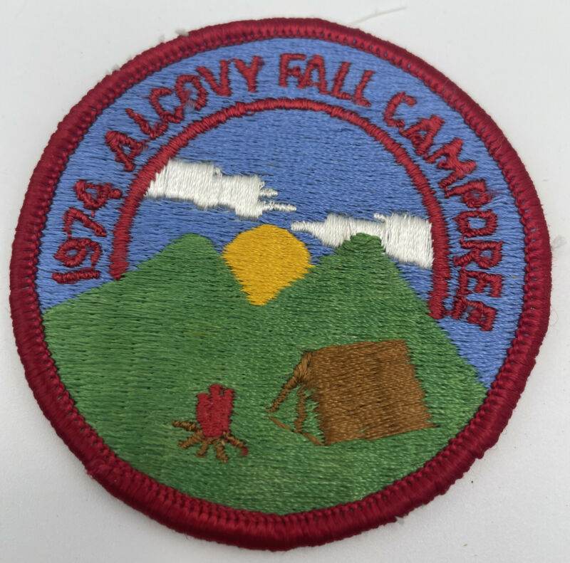 Boy Scouts Of America 1974 Alcovy Fall Camporee BSA Patch Vintage