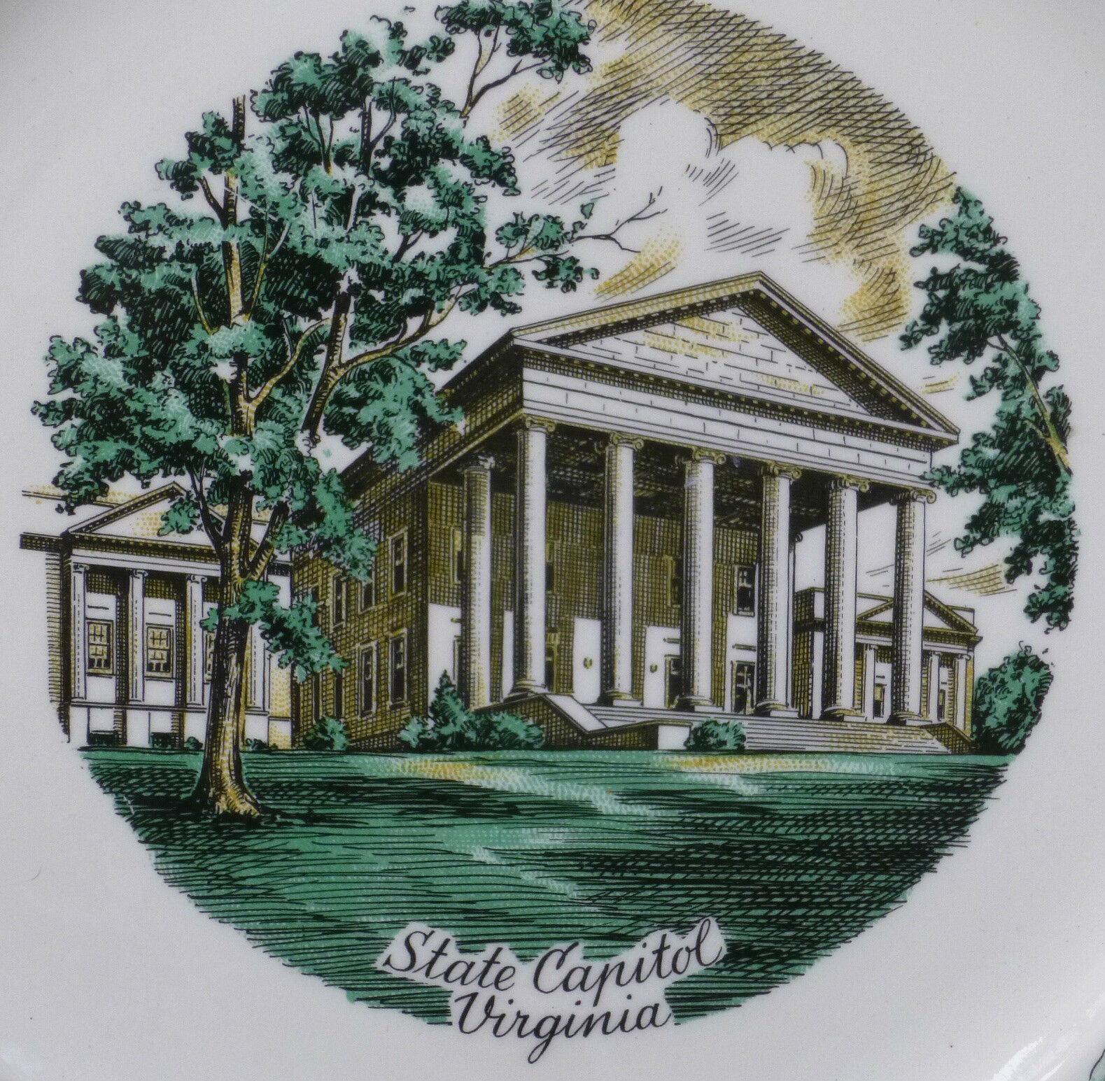 State Plates , Decorative Collectibles , Men