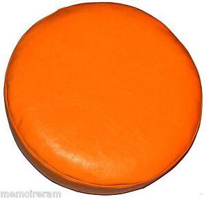 housse cache roue de secours sur mesure orange pour audi
