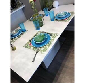 175cm*105cm dining table, can extend longer