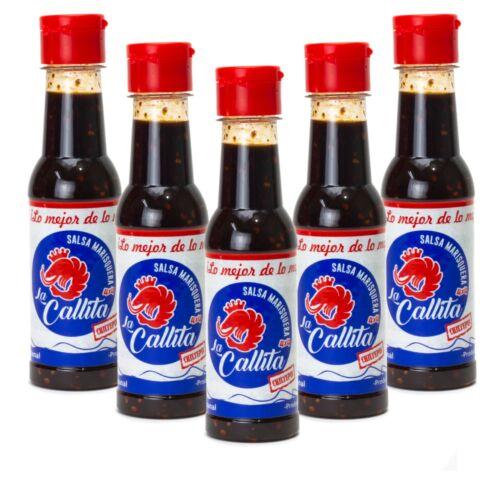 Salsa La Callita 5 Pack + 26 Chiltepines - free shipping