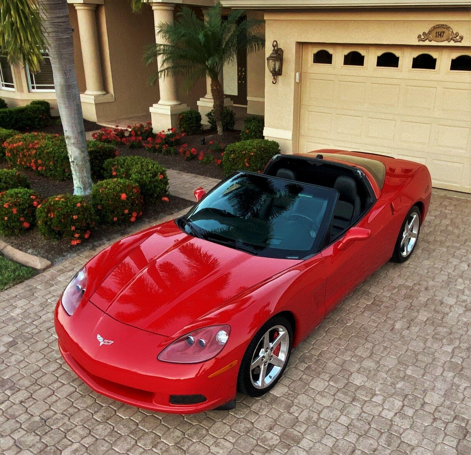 2005 Red Chevrolet Corvette     C6 Corvette Photo 1