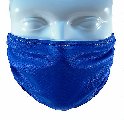 Blue Comfy Mask By Breathe Healthy  For Dust  Pollen   Allergy Relief