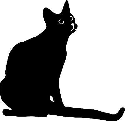 Katze 62a Aufkleber Wandtattoo Cats Auto Wand 20 cm