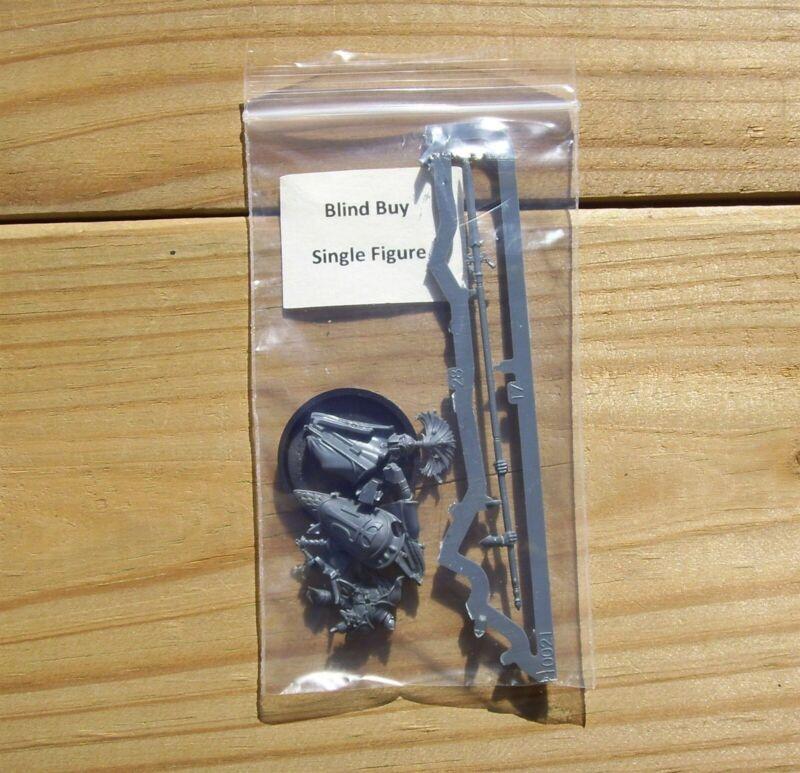 W:AOS Lumineth Realm-Lords _Warden w/ Wardens Pike Blind Buy Single Figure