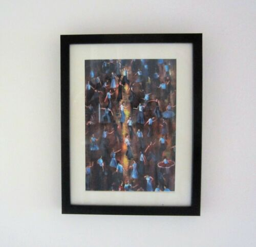 Northern Soul; Northern Soul Dancers, Wigan Casino, On the Floor, Framed Print