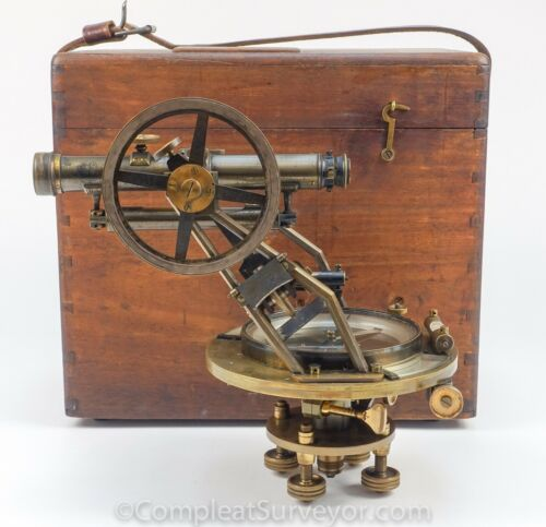1880 Young & Sons Mining Transit - BLACK FRIDAY SALE - The Compleat Surveyor