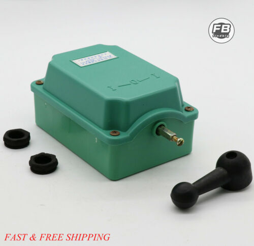 Drum Switch Forward/Off/Reverse Motor Control Rain-Proof Reversing 60A