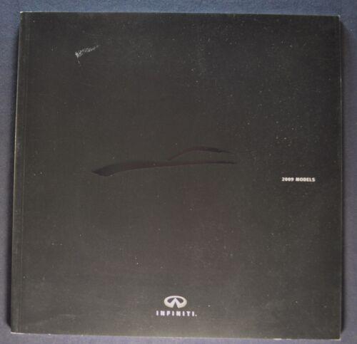 2009 Infiniti Catalog Brochure G37 G Sedan M35 EX FX QX Excellent Original 09