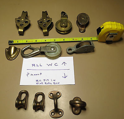 Wilcox Crittenden Hardware Pulleys etc