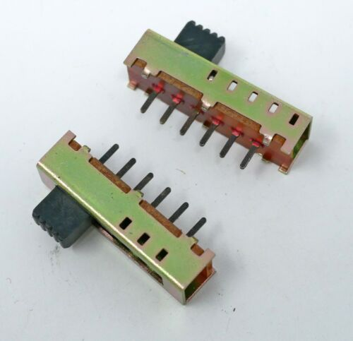 Slide Switch Single Pole 5 Position Miniature PCB Mount - Lot of 75