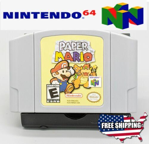 Paper Mario - Nintendo 64 N64 **NEW +More