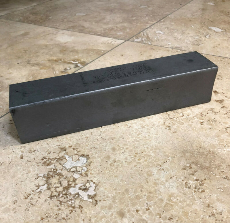 Titanium Block 2.00 x 2.00 x 10.00 with certificates.  Made in USA
