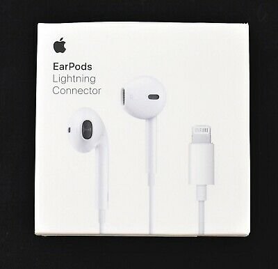 GENUINE Apple - (MMTN2AM/A) EarPods with Lightning Connector - 1040ss