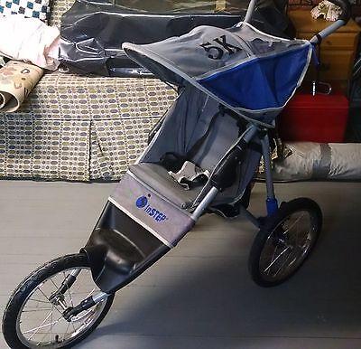 Kyпить InSTEP 5K Blue Grey Jogger Single Seat Fixed Wheel Stroller Pacific Cycle на еВаy.соm