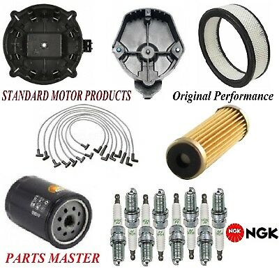 El Wire Hat (Tune Up Kit Filters Cap Spark Plugs Wire For CHEVROLET EL CAMINO V8 5.0L)