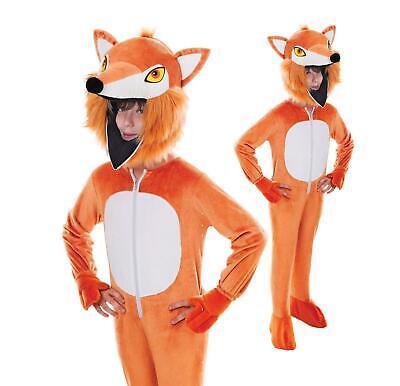 Infantil Animal Día Del Libro Semana Disfraz Fantástico Fox Traje Cabeza Grande