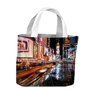New York Times Square Tote Shopping Bag For Life - USA America