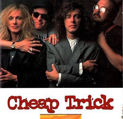 CHEAP TRICK 1989 LAP OF LUXURY TOUR PROGRAM BOOK / RICK NIELSEN / NMT 2 MINT