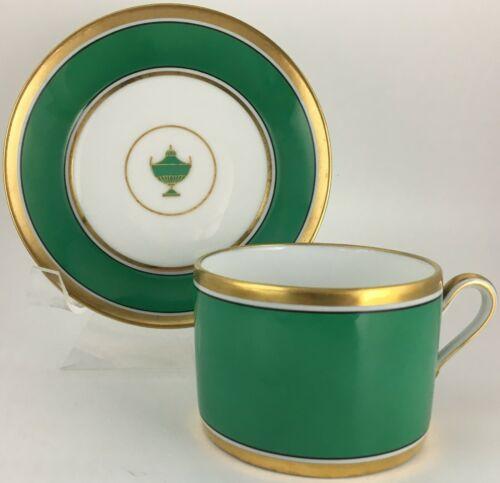 Richard Ginori Impero Green Cup & saucer