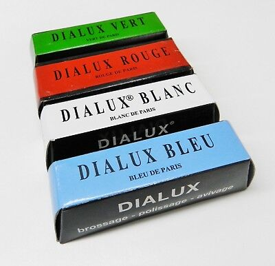 4 Bars Jewelers Rouge Polish Dialux French Jewelry Polishing Buffing Compound