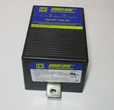 Square D Ma1ima12 Surgelogic Voltage Surge Protector Device 120volts