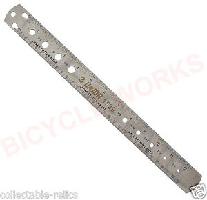 Spoke Length Ruler Bearing Size Cotter Pin Gauge Tool Bicycle Wheels Unior U206