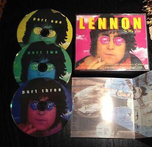 JOHN LENNON - x collezionisti - 4 CD interviste e p.c. attorno al mondo - Italia - JOHN LENNON - x collezionisti - 4 CD interviste e p.c. attorno al mondo - Italia