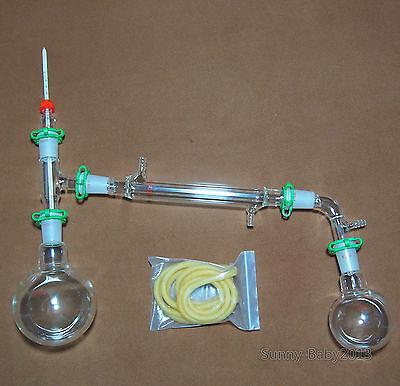 500ml2440glass Distillation Apparatuslab Vacuum Glassware Kit