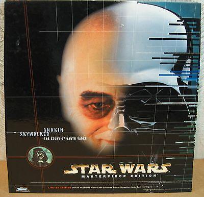 Star Wars Anakin Skywalker Figure & Book Story of Darth Vader Kenner Collection