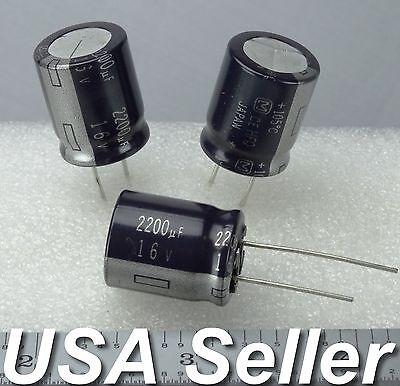 2-5pcs 2200uf 16v Panasonic Hfq Series Japan Electrolytic Capacitors Usa Ship