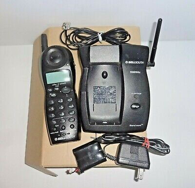 Bellsouth 900MHz Cordless Phone With Caller ID Model MH9915BK 900 Mhz Cordless Phones