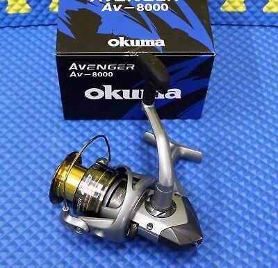 dd052cdb57f Okuma Avenger AV-8000 Spinning Reel NEW FOR 2019 AV-8000