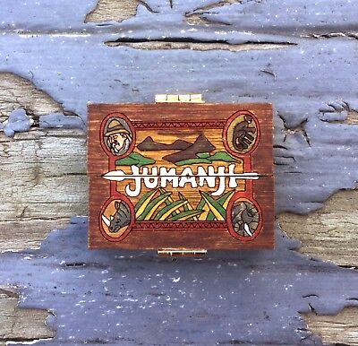1:12 Miniature Jumanji Game Board Replica Prop- Scale Artisan Dollhouse