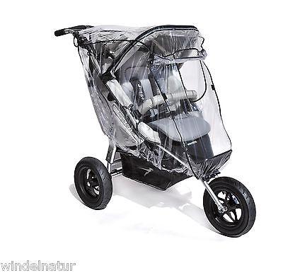 ASMi Kinderwagen Wetterschutz Regenhaube Baby Regenverdeck Jogger Sportwagen XL