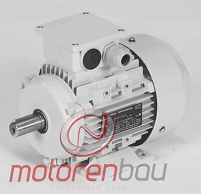 120mmFlansch EMK Drehstrommotor 0,12kW 1000//min Welle Ø11mm 63 B14