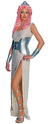 Damen Clash Of The Titans Aphrodite Kostüm Griechische Göttin HALLOWEEN 4-8 ()