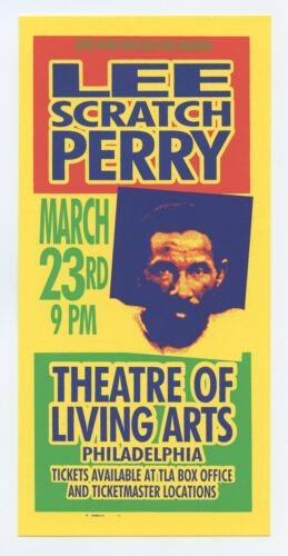 Lee Scratch Perry Handbill 2001 Mar 23 Philadelphia