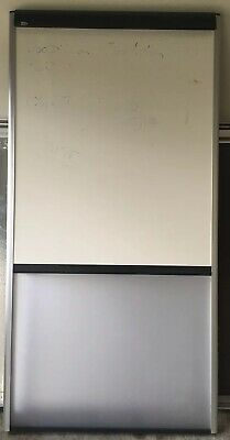 Quartet Dry Erase And Glass Combo Board 70 X 36 Model 43627 Fairly Used.