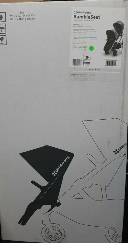 UPPAbaby HENRY (Blue Marl) Rumble Seat Add-on Seat Vista 2015+