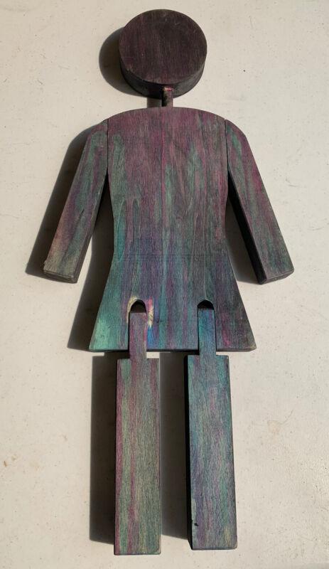 Girl Skateboards Statue Figure Art Piece Large Advertisement Display Skateboard